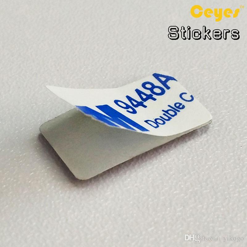 البلاستيك قطرة ملصقات السيارات التصميم لأوبل أسترا h g شارة موكا vectra c ب zafira ب كورسا د 4 قطعة / الوحدة