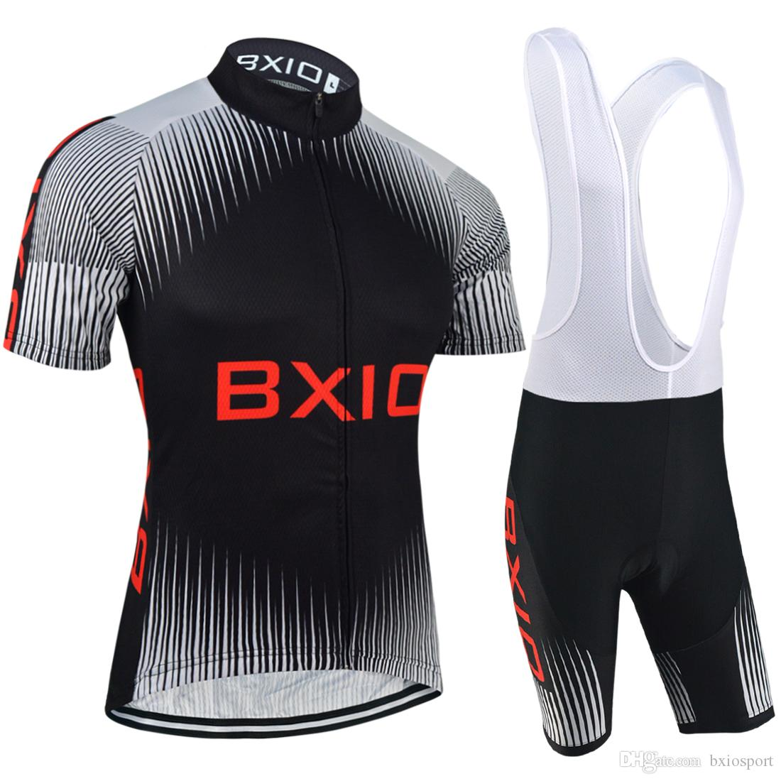BXIO Brand Cycling Jerseys Set Pro Team Men Bikes Clothes China Hot Sale Short  Sleeve Breathable Bikewear Completino Ciclismo BX 057 Cycling Apparel ... c1791fa5c