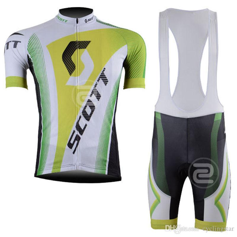 New Scott team Cycling jerseys summer style bike Clothing Mens Quick-dry short sleeves bicycle maillot ropa ciclismo C0229