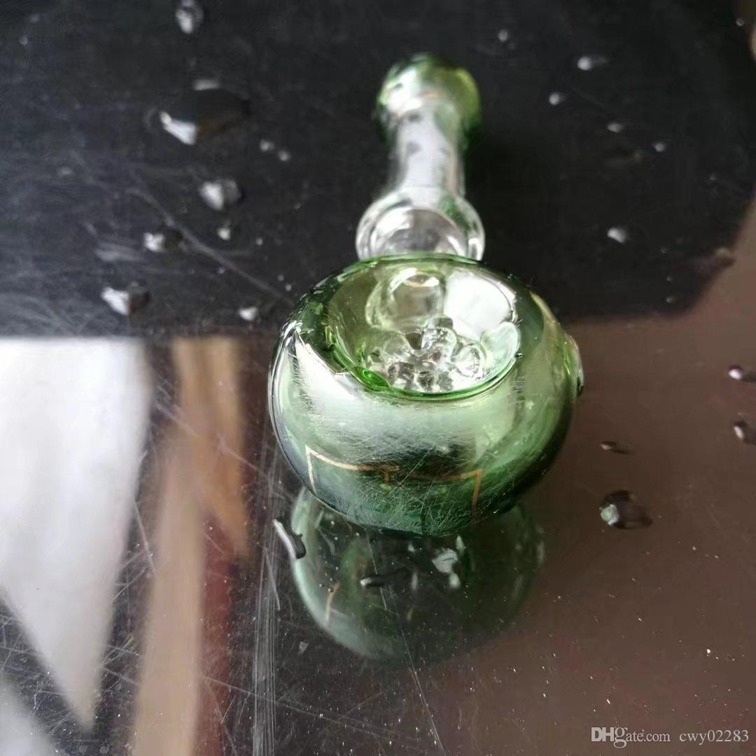 큰 물, 유리 봉 액세서리 고유 오일 버너 유리 파이프 물 파이프 유리 파이프 석유 굴착기 Dropper로 흡연