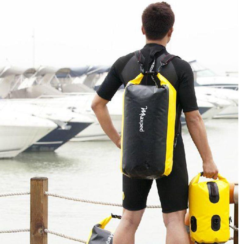 Best Thickened Maxped Pvc Drifting Bag Waterproof Dry Bag Backpack Canoe Kayak Rafting Floating Storage Bags Folding Travel Kits Under $36.19 | Dhgate.Com  sc 1 st  DHgate.com & Best Thickened Maxped Pvc Drifting Bag Waterproof Dry Bag Backpack ...