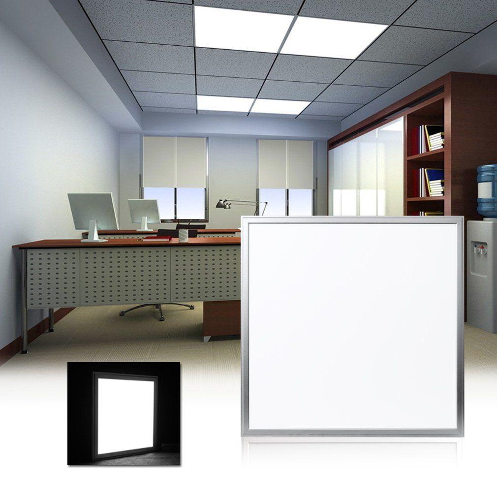 Faretti da incasso a soffitto a pannello quadrato a LED luminosi super luminosi da 600 * 600mm 36W 48W 4800LM SMD2835 con cornice in alluminio