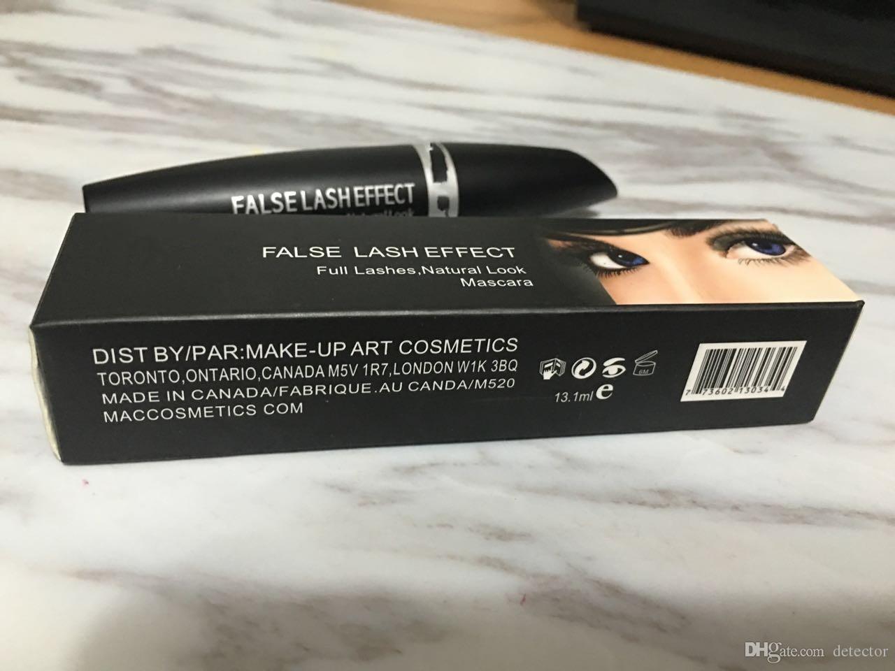Componga gli occhi impermeabili A520 neri di mascara di sguardo di sferza delle sferze di effetto completo sferza della mascara di trucco naturale di smagliature Trasporto libero del DHL!