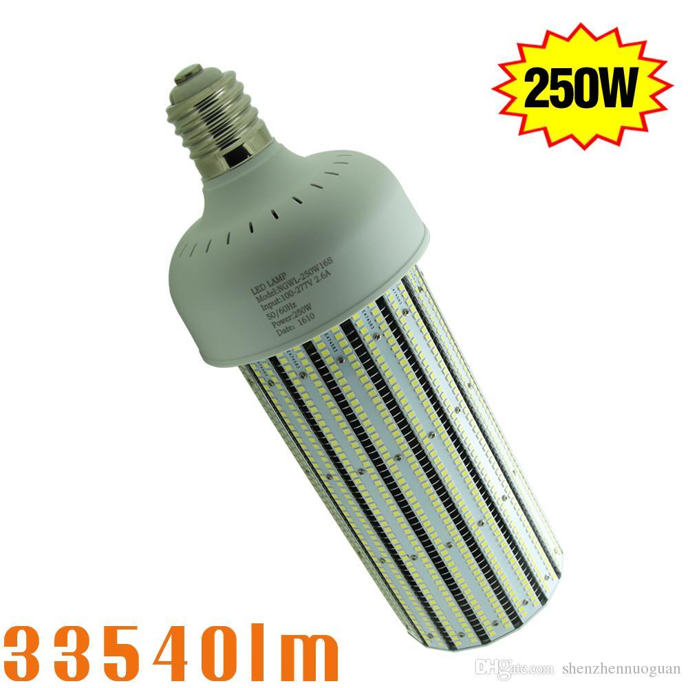 1000 Watt Metal Halide Led Replacement ul cul 250w led corn cob bulb retrofit 1000watt metal halide warehouse high  bay light e39 mogul base ac100-277v