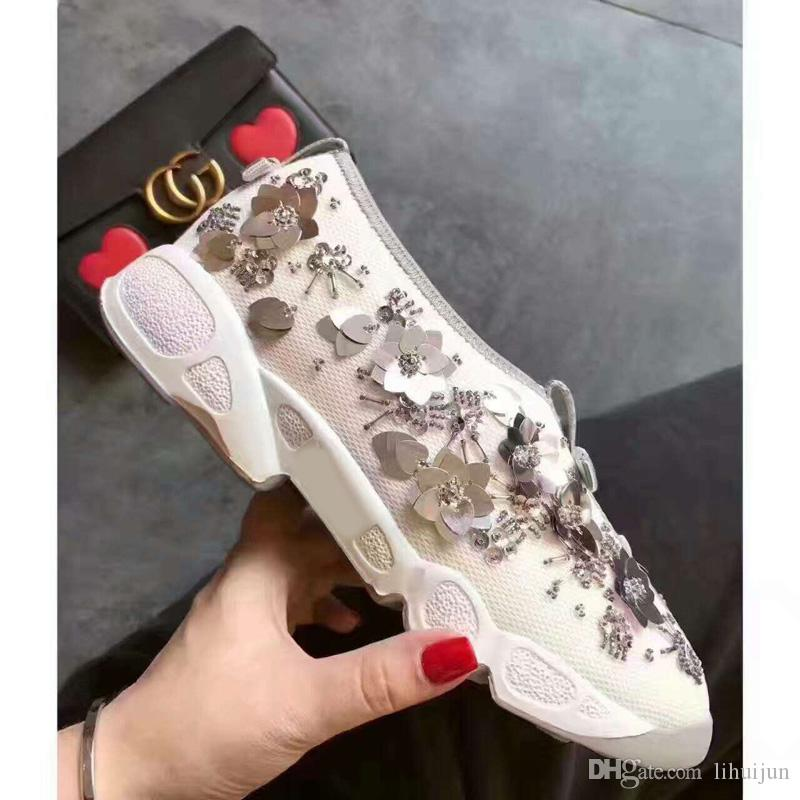 Compre Zapatos Deportivos Femeninos Transpirables Botas Malla Negra Botas Transpirables 53b04e