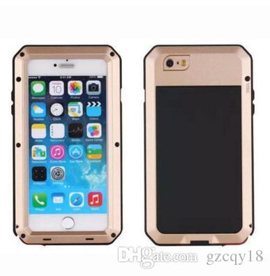 d5955e2d996dd Metal Waterproof Dirtproof Shockproof Case For IPhone 8 X XS 7 6 6s Plus 5  5S I Phone 6plus Armor Cover Luxury Designer Slim Gorilla Cases Bedazzled  Phone ...