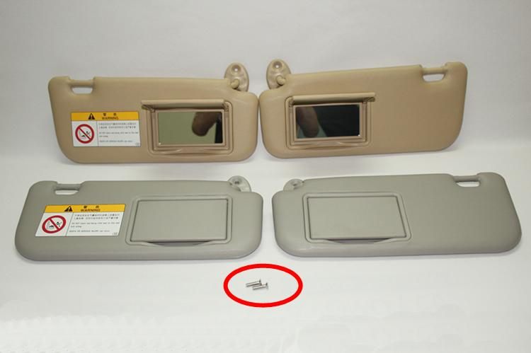 For Toyota 2014 2017 Corolla With A Make Up Mirror Sun Visor Car Sun Visor  Beige   Gray Truck Parts For Cheap Use Car Part From Xysw8888 18e3b87c80e