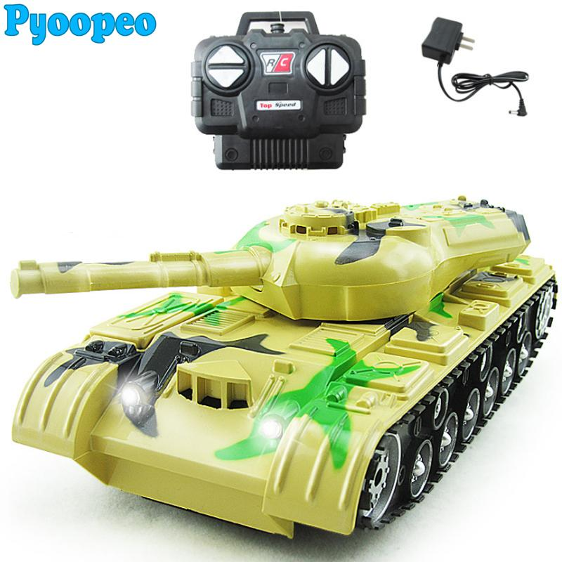 Wholesale- Pyoopeo 1:22 RC Tank Battle Toy Tank Remote Control RC Fighting  Tank Model Classic Toys with Music Light 360 Rotation Christmas Toy Tanks  Remote ...
