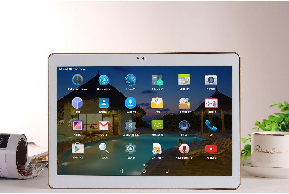 10.1 Polegada Projeto Android 5.1 Tablet Pc 4 GB Ram 32 GB Rom Dupla Cartão SIM 2G 3G Rede Pad IPS LCD Phone Call Tablets Mini Pad