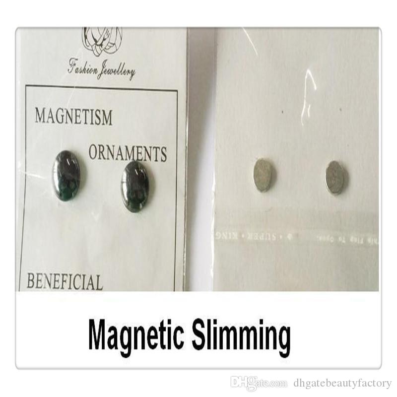 Fashion Earrings Healthcare Weight Loss Earrings Bio Magnetic Slimming Ear Healthy Stimulating Acupoints Stud Earrings Magnetic Therapy Ear