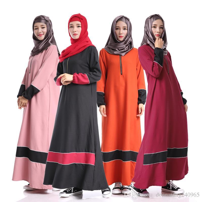 ec60ff4a33 Fashion Diamonds Jilbabs And Abayas 2017 Muslim Ethnic Dress Thick Chiffon  Abaya Muslim Arabic Dubai Kaftan