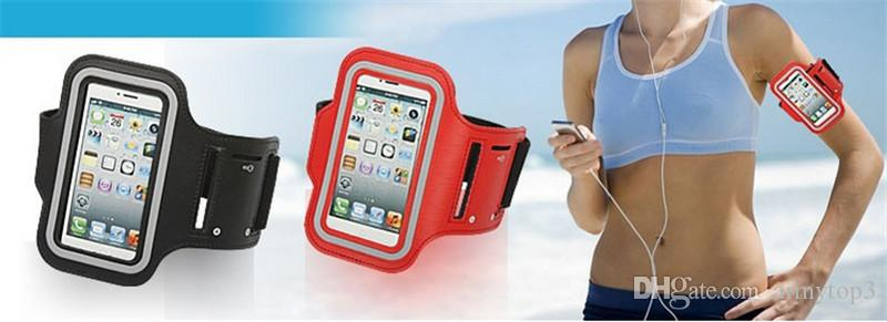 For iPhone7 Armband Case for iPhone 7 iPhone 6s for Galaxy S7 S6 S6 edge S3 S4 S5 Arm Band Sport Gym Running Belt Waterproof Cover