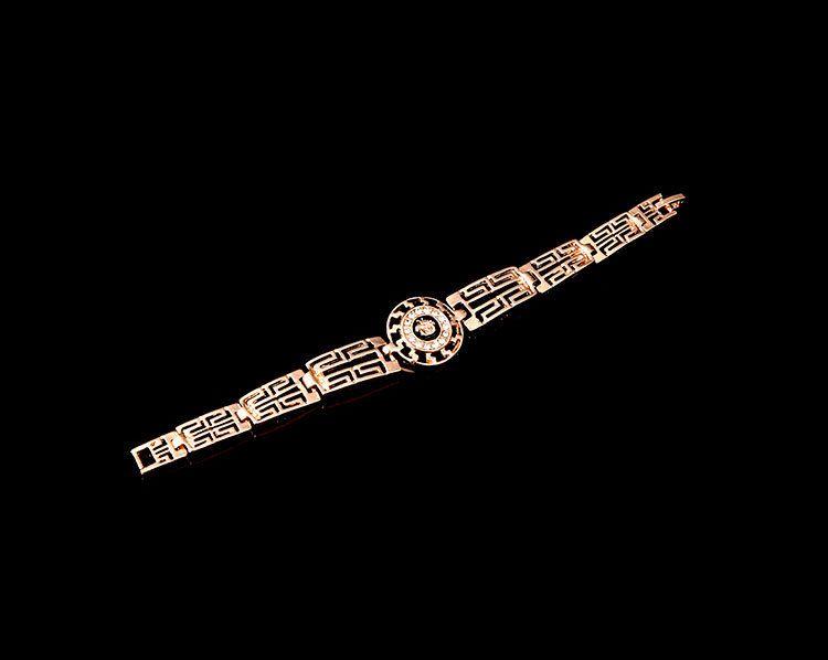 18K Gold Plated Enamel Lion Head Necklace Bracelet Earrings Ring Jewelry Sets for Women Wedding Jewelry Sets Wholesale Price