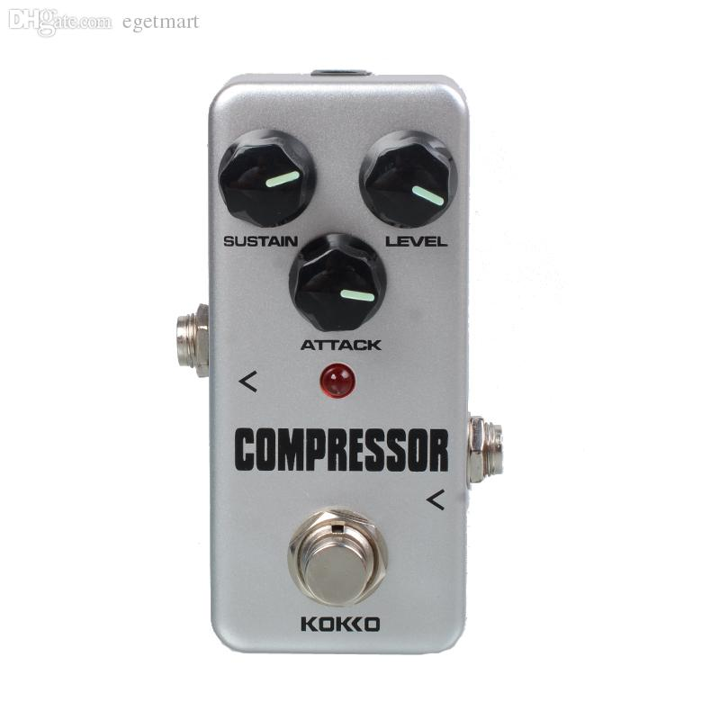 KOKKO FCP2 Mini Compressor Pedal Portable Guitar Effect Pedal With Gold Guitar connector