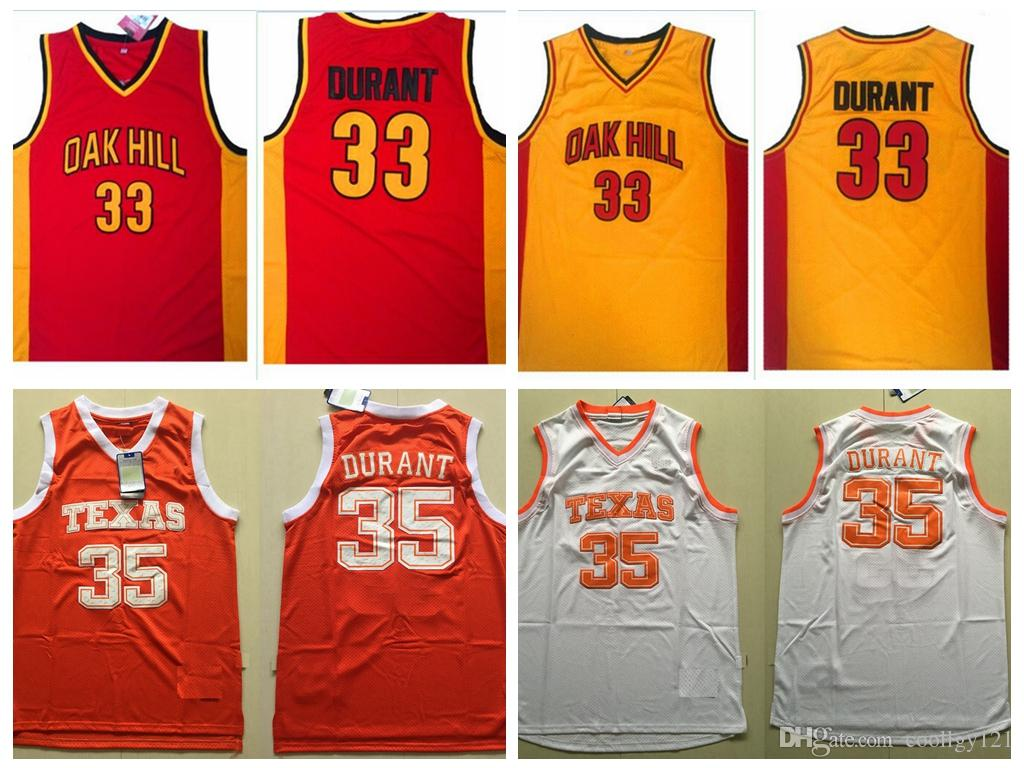buy popular 570a3 877da kevin durant college jersey