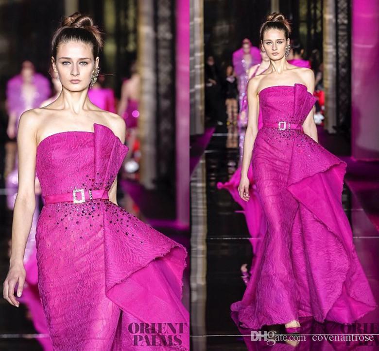 Newest Couture Zuhair Murad Red Carpet Evening Dresses Mermaid ...