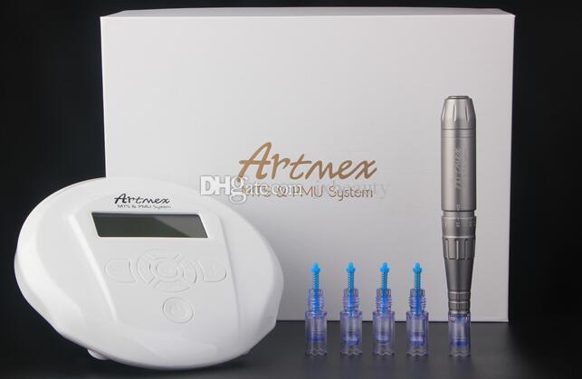 Artmex V6 с цифровым полу перманентный макияж ПМУ система с ручкой стенд система Derma ручка авто микроиглы