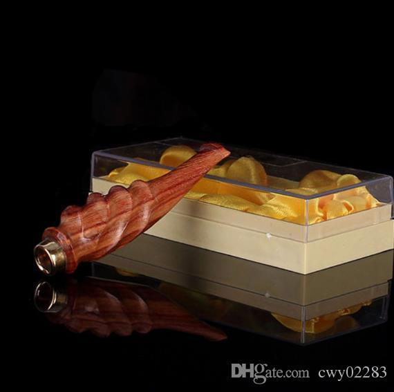 Die neue sandelholz boutique zigarettenspitze umwelt recycling typ festholz prozess lobularen roten sandelholz filter zigarettenspitze