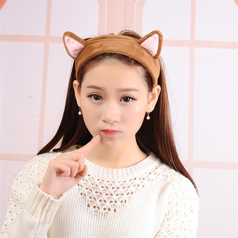 Wholesale- Cute Ear Bath Cleaning Washing Face Makeup Sporting ... 4bc6affcdad4