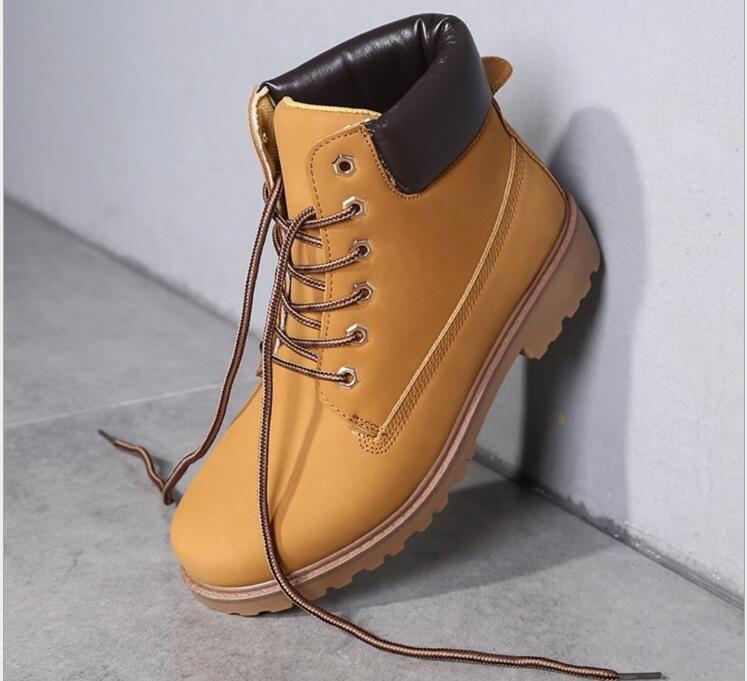d2df56afe6147 Compre 2016 Mujeres Hombres Moda Martin Boots Botas De Nieve Al Aire Libre  Casual Hombres Baratos Botas Otoño Invierno Amante Zapatos A  53.95 Del  Iphonesix ...