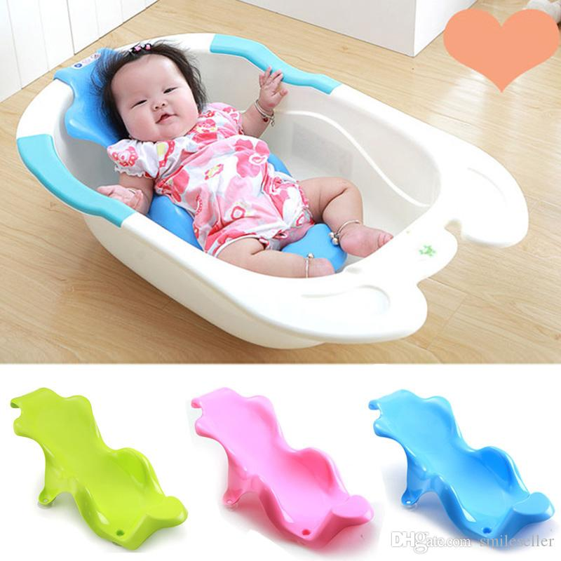 Discount Good Quality Baby Bath Rack Safety Non Slip Infant Bathing ...