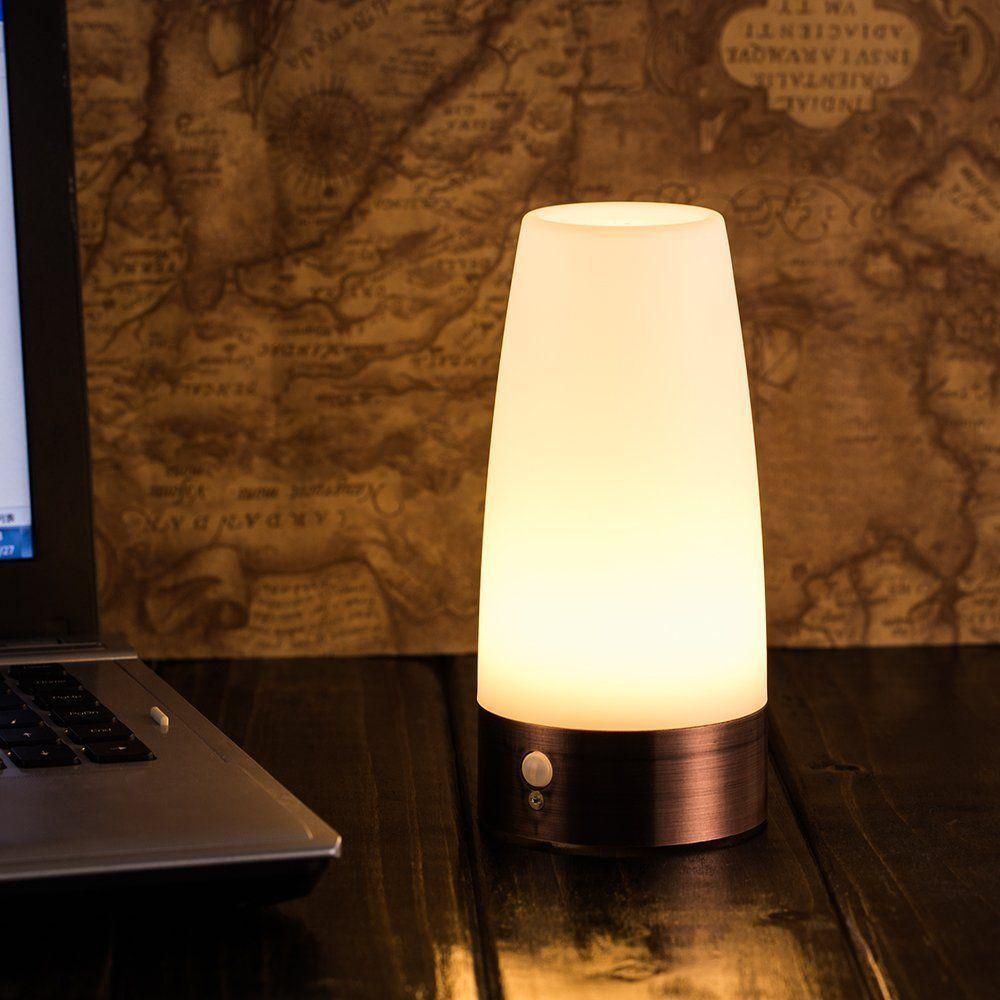 Grosshandel Retro Nachtlicht Wireless Pir Und Bewegungsmelder 3 Modus