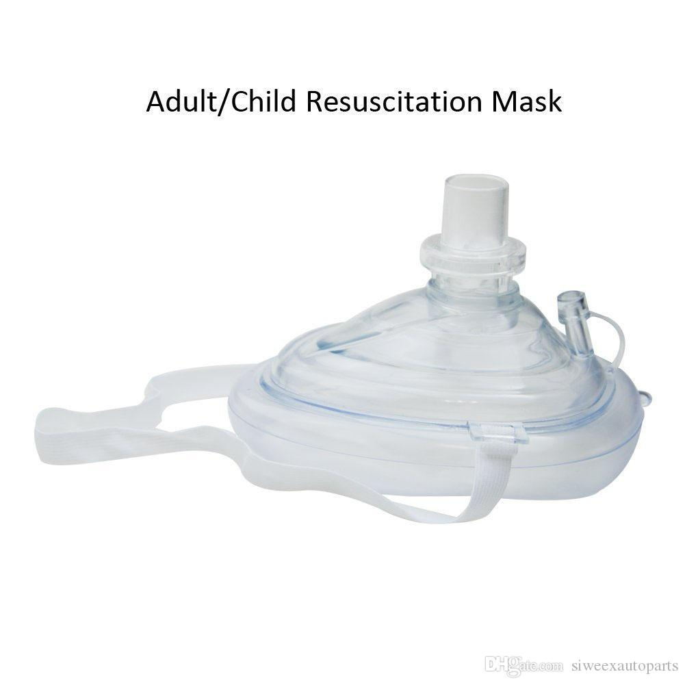 First Aid kit CPR Rescue Adult/Child Resuscitation Mask Breath One-way Valve Pocket Resuscitator in Carrying Case