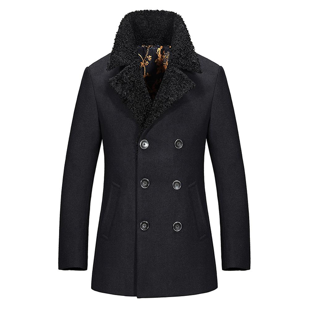 Wardrobe builders like a wool peacoat, whether it's designed for a man or a woman, have a quality that combines durability with dependable good looks. For a coat that will truly keep him or her warm on those cold weather days, a .