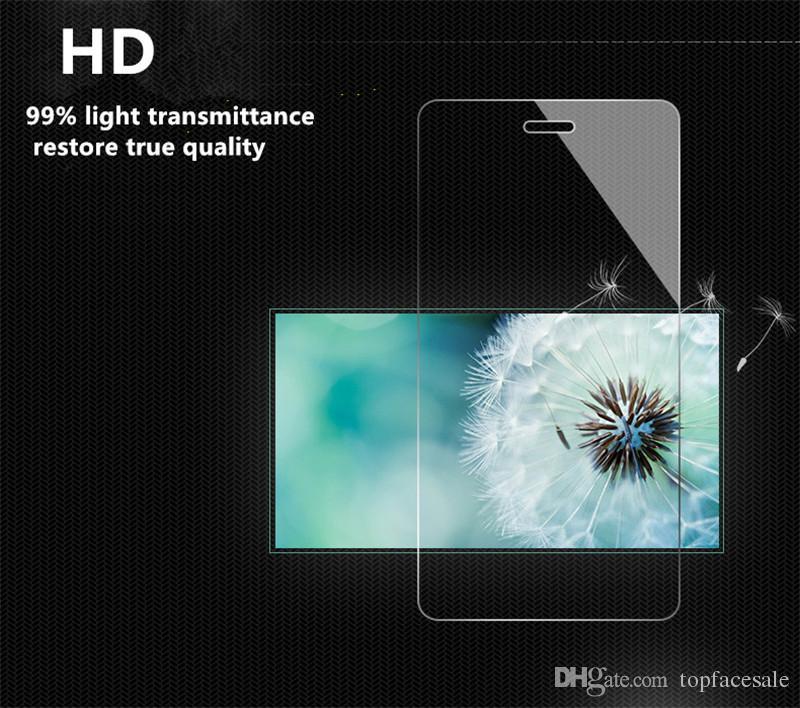 Protector de pantalla de vidrio templado premium para Samsung Galaxy C7 Pro 5.7 '' Película protectora endurecida con paquete al por menor