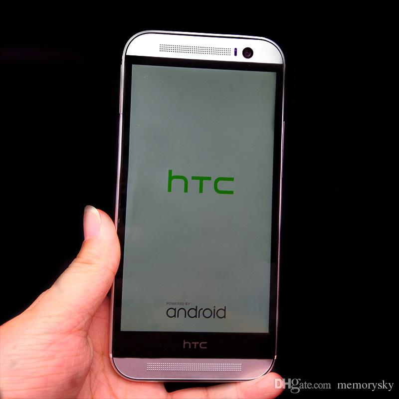 هاتف مقفلة مجدد HTC ONE M8 4g lte phone 5.0 بوصة Quad Core 2GB RAM 16GB / 32GB ROM 4G الهاتف المحمول Android