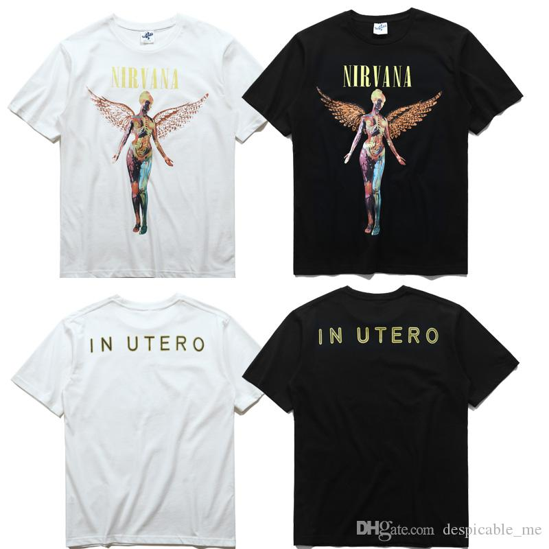 Kanye T Shirt Angel Anatomy Duck In Utero The Same Paragraph Nirvara ...