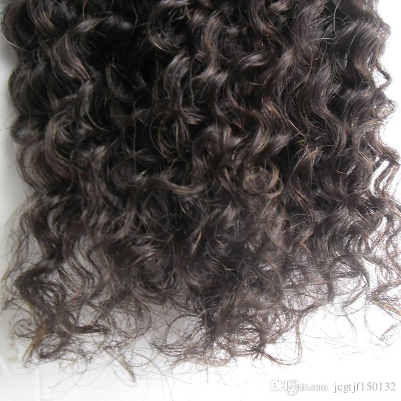 Micro bead extensions Hair extensions remy indian loop 100g unprocessed indian hair kinky curly micro loop hair extensions