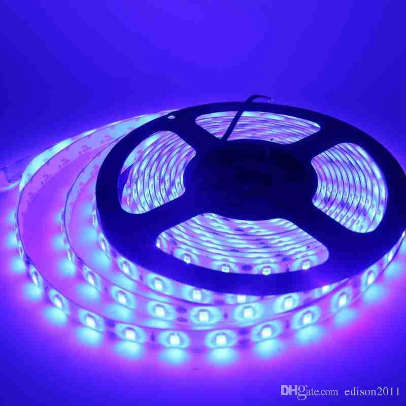 Blanca tira llevada 5630 impermeabiliza los 5M 60Leds / M luz de tira DC 12V LED cadena de Gaza escaparate barra de LED de la lámpara