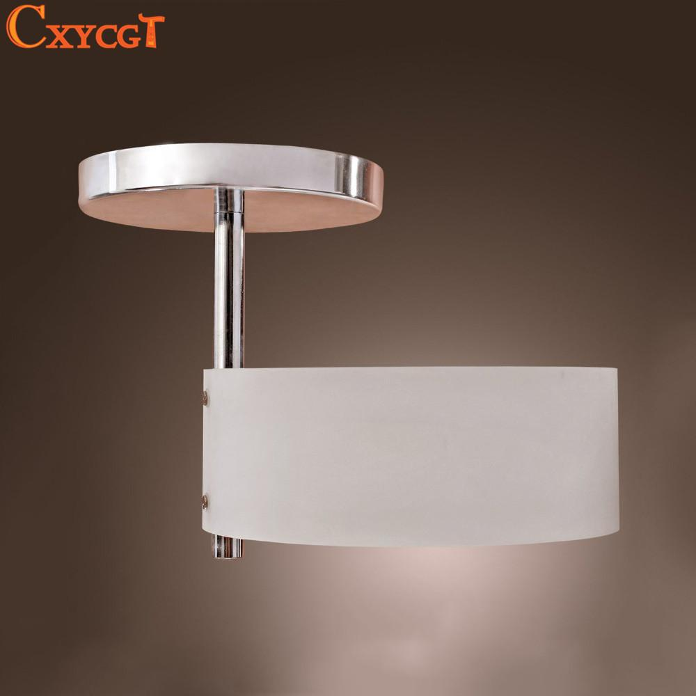 White Modern Led Ceiling Light Flush Mount Lights Polish Acrylic Round Bedroom Kitchen Bathroom Lamp Novelty Households By