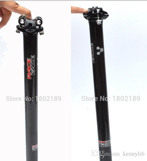 RACE FACE PRÓXIMO de fibra de carbono estrada bicicleta assento post mtb bicicleta selim de carbono peças da bicicleta 350mm 400mm * 31.6 /30.8 / 27.2 MM