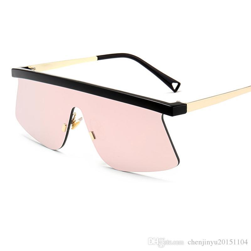 64f797db89 New Fashion Women Brand Sunglasses Men Designer Rimless Reflective Glasses  UV400 A003 Sunglasses Women Sunglasses Men Glasses Online with  10.28 Piece  on ...