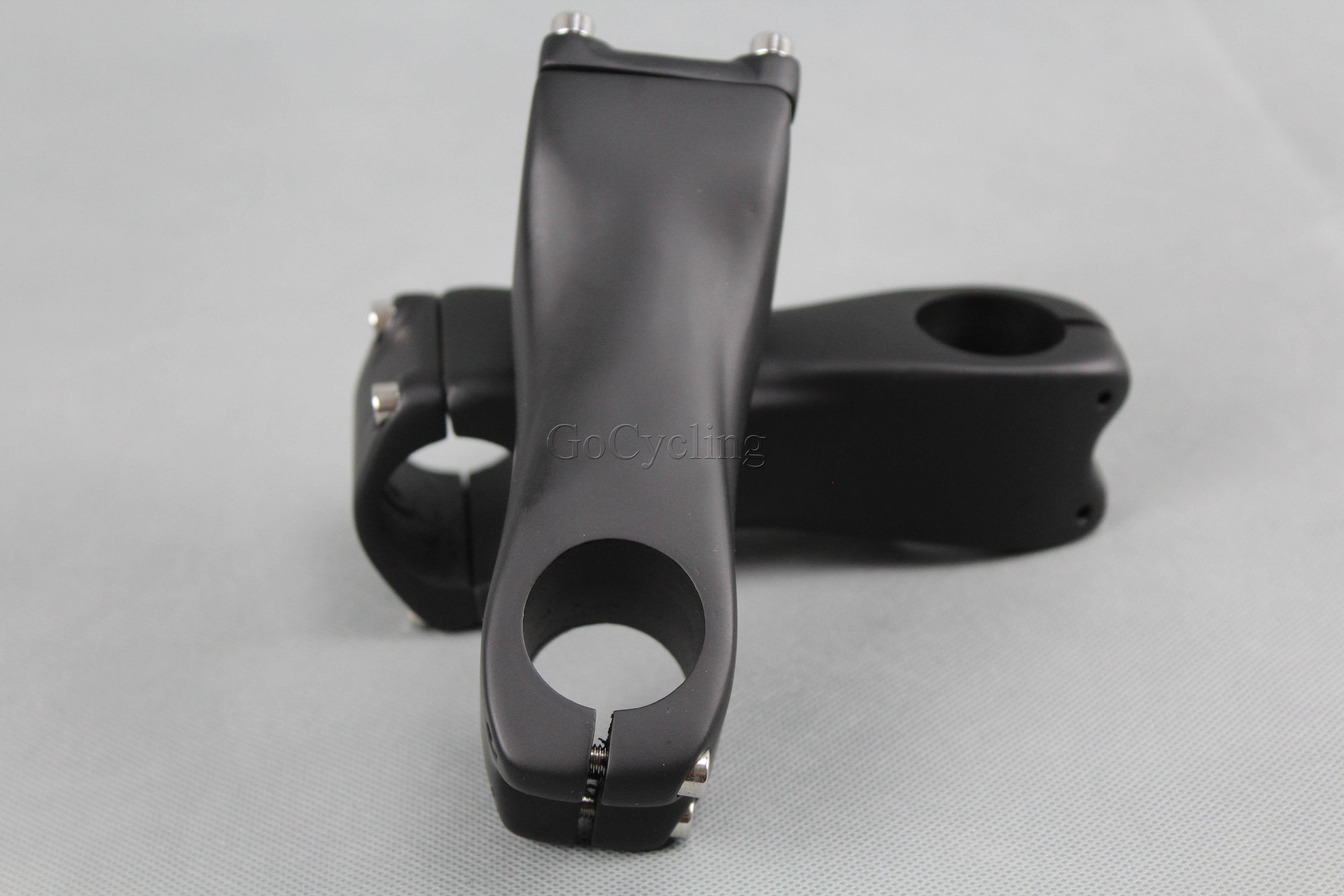 MTB Road Bike carbono tronco haste de fibra de carbono riser 31.8mm tamanhos 90 100 110 120 130mm ângulo 6