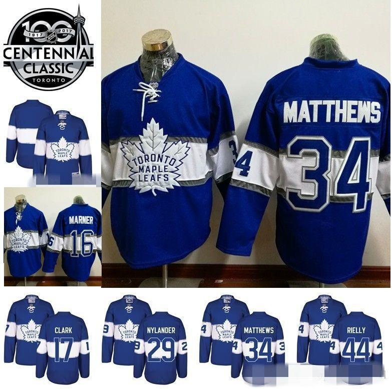 ... cheapest 2017 2017 centennial classic jerseys toronto maple leafs 34  auston matthews 17 wendel clark 16 b52d69e94