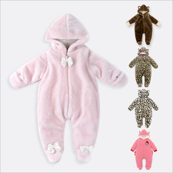 95fda1891cd Wholesale High Quality Newborn Baby Rompers 0-9 Months Baby Winter Clothes  Long Sleeve Girl Boy Romper Warm Kids Outerwear Clothing LA382 Newborn Baby  ...