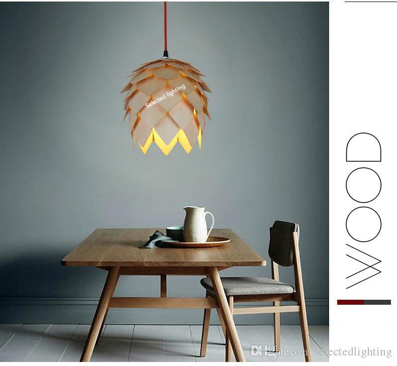 현대 목재 램프 덴마크 루이 Poulsen PH5 펜 던 트 램프 침실 램프 사무실 거실 펜 던 트 조명 피팅