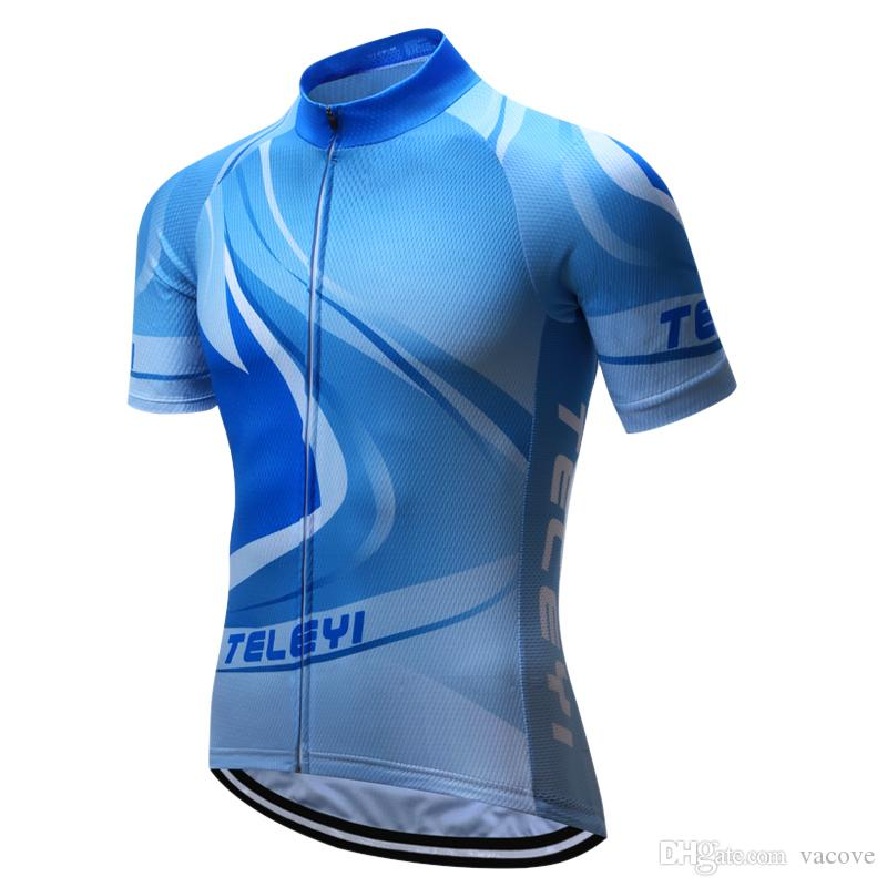 f04323adc VACOVE 2017 New Team Polyester Cycling Jerseys Short Sleeves Summer  Breathable Cycling Clothing Pro MTB Bike Jerseys Ropa Cycling Shirt Cycling  Jersey Pro ...