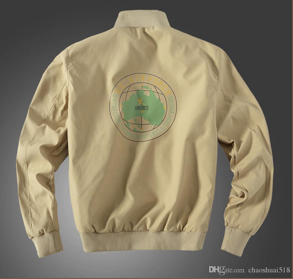 Nueva chaqueta de uniforme militar chaqueta de cuello de estilo de edición de hombre fino, yardas grandes