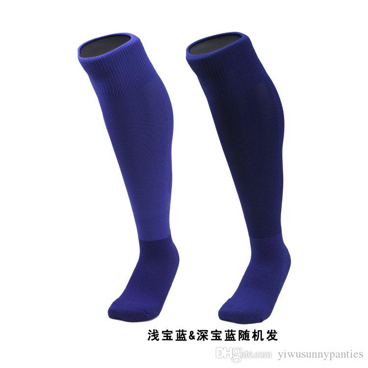 2018 Promotion Top Fashion Athletic Men Leg Support Stretch Outdoor Sport Socks Knee High Compression Unisex Stocking Running Snowboard Long