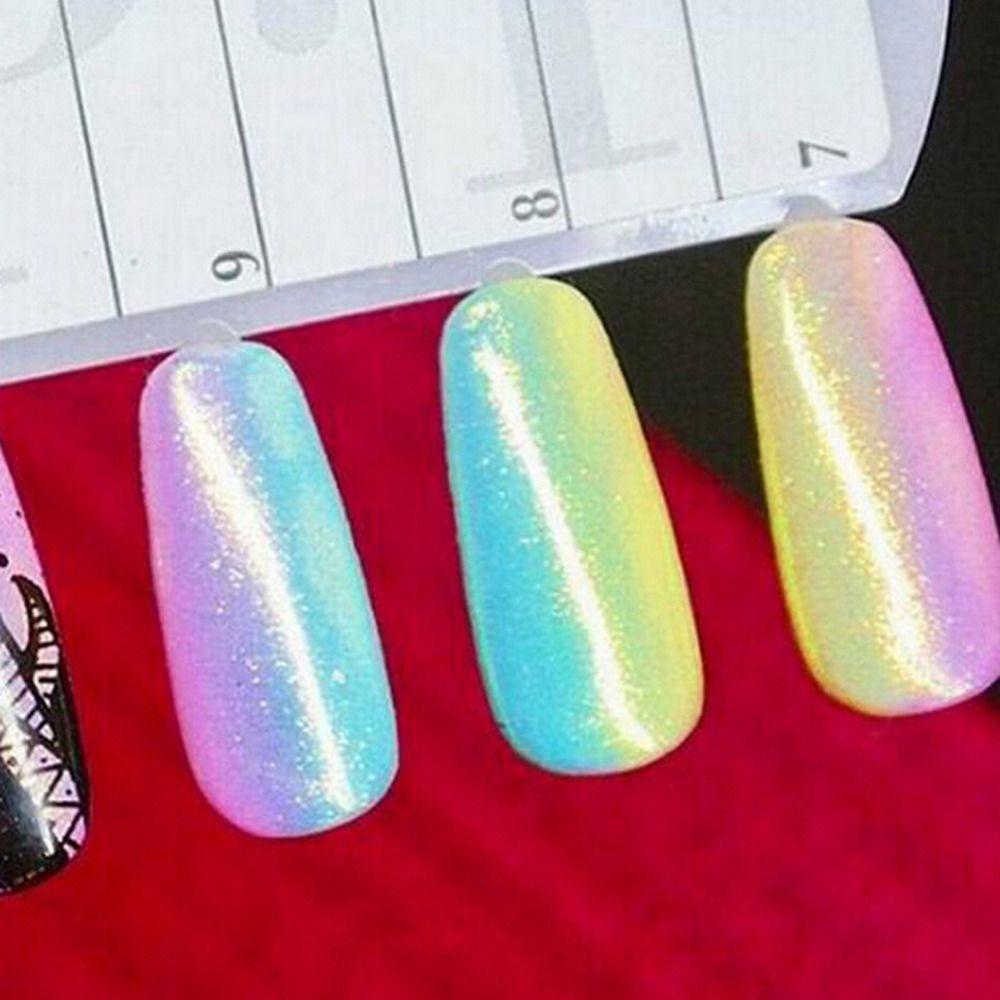 Wholesale New Fashion Nail Glitter Art Tips Gradient Color Mermaid ...
