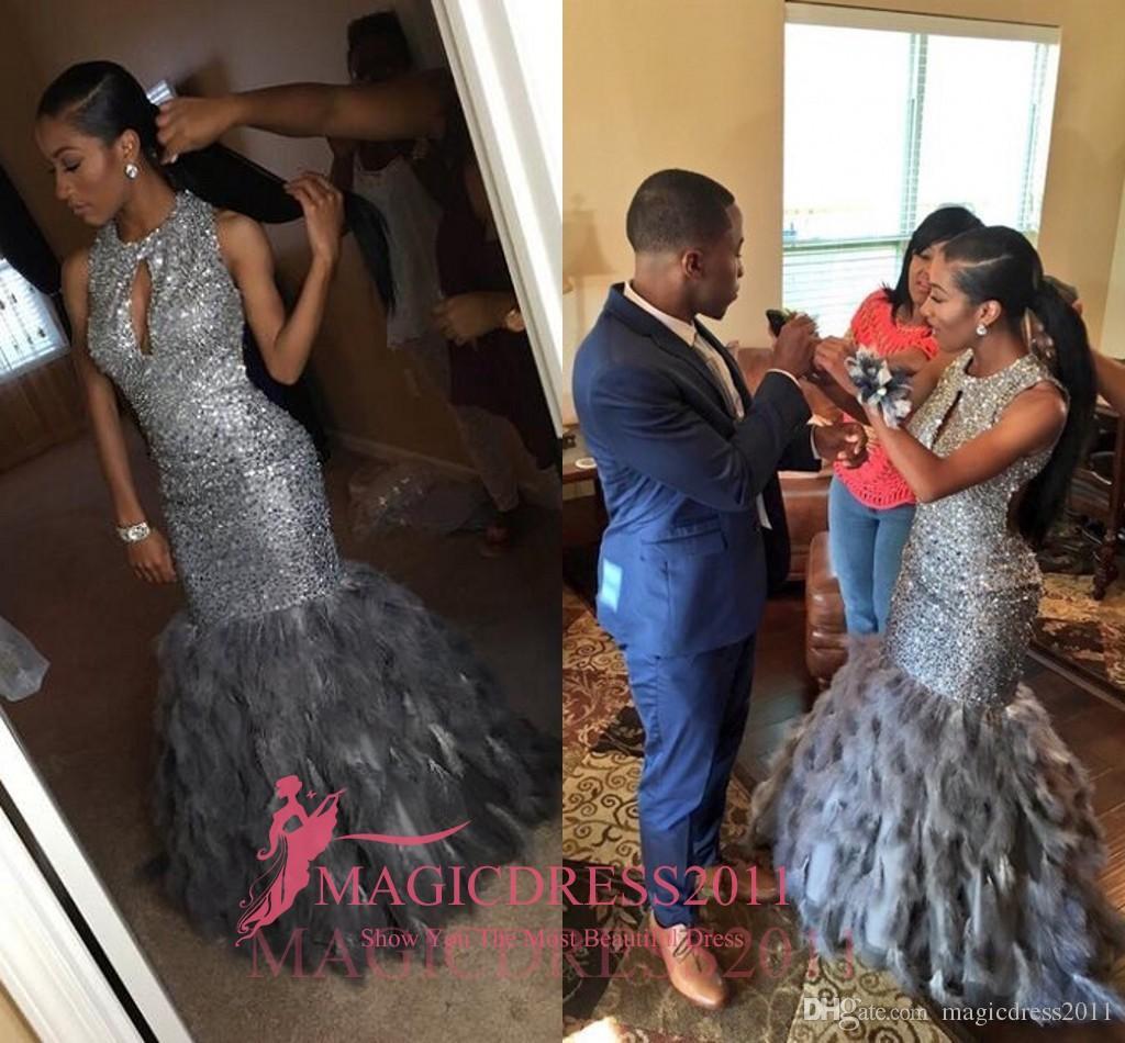Gorgeous Black Girl 2017 Prom Evening Dresses Mermaid ...