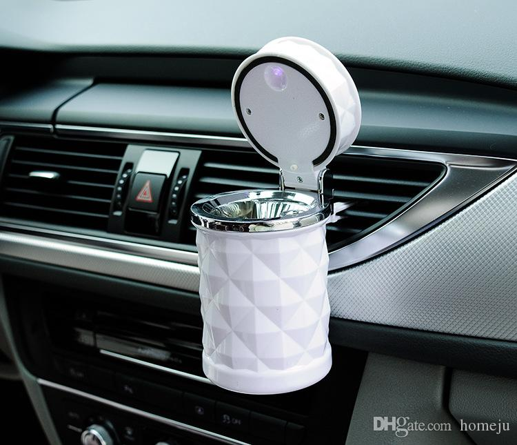car luxury accessories  Online Cheap Luxury Car Accessories Portable Led Car Ashtray ...