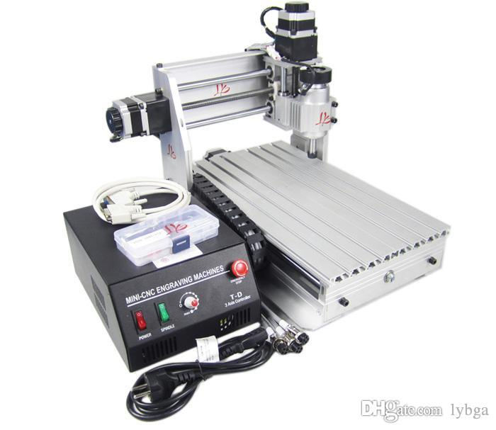 russian free taxes desktop cnc mill machine CNC 3020T-DJ wood Router  Engraving Drilling and Milling Machine for metal cutting