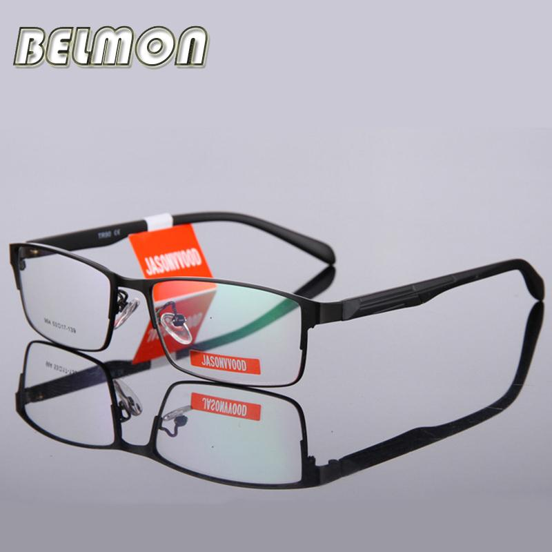 Wholesale- BELMON Eyeglasses Frame Men Computer Optical Eye Glasses ...