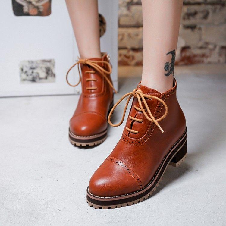 Preppy Style Women Shoes