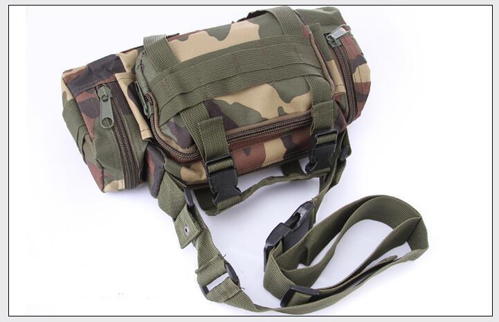 55L Gran Capacidad Deportes Al Aire Libre Multifuncional 3D Nylon Camuflaje Duffel Bag Militar Táctico bandolera Camping Mochila Senderismo